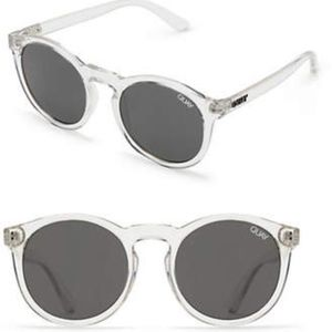 "Quay Australia ""KOSHA COMEBACK"" Clear Sunglasses"